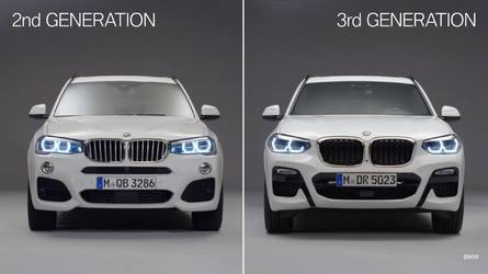 Old Vs. New: BMW Shows How The X3 Has Evolved