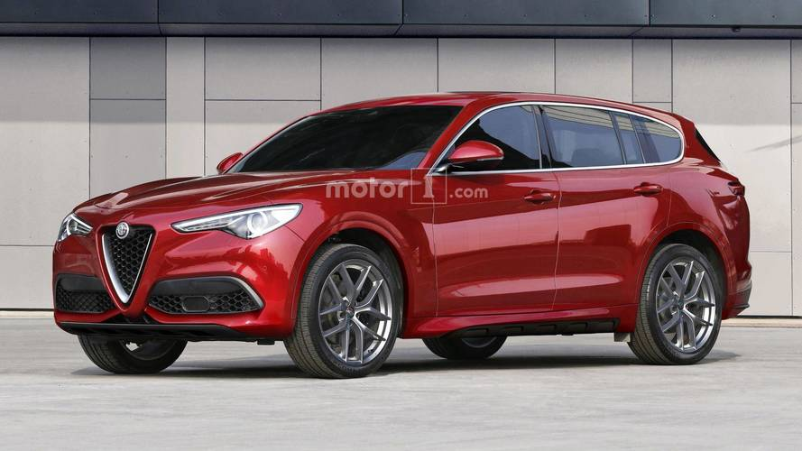 Alfa Romeo planning larger, more powerful Stelvio-based SUV