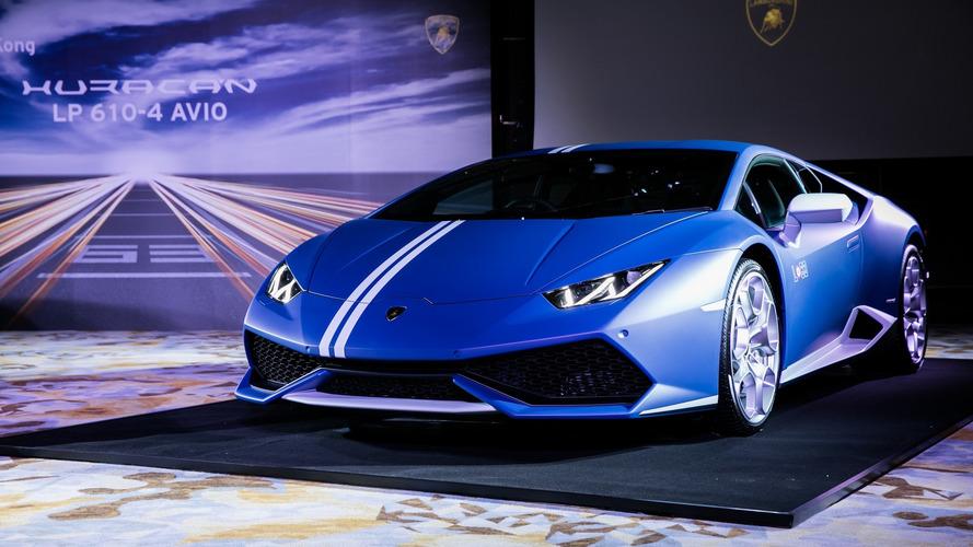 La Lamborghini Huracán Avio lancée officiellement à Hong Kong