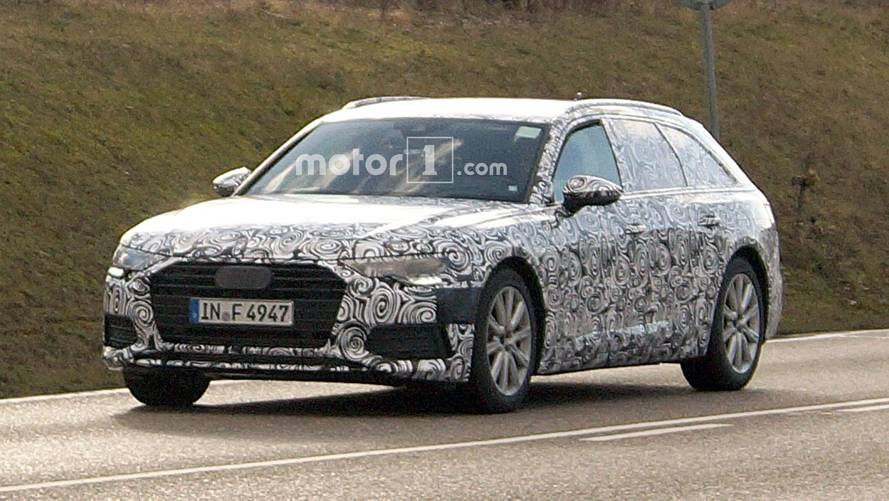 Next Audi A6 Avant spotted – sharper looks, longer roof