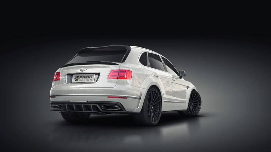 Bentley Bentayga par Prior-Design