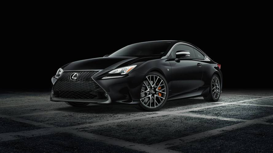 Lexus draws a new (black) line for its RC F SPORT models