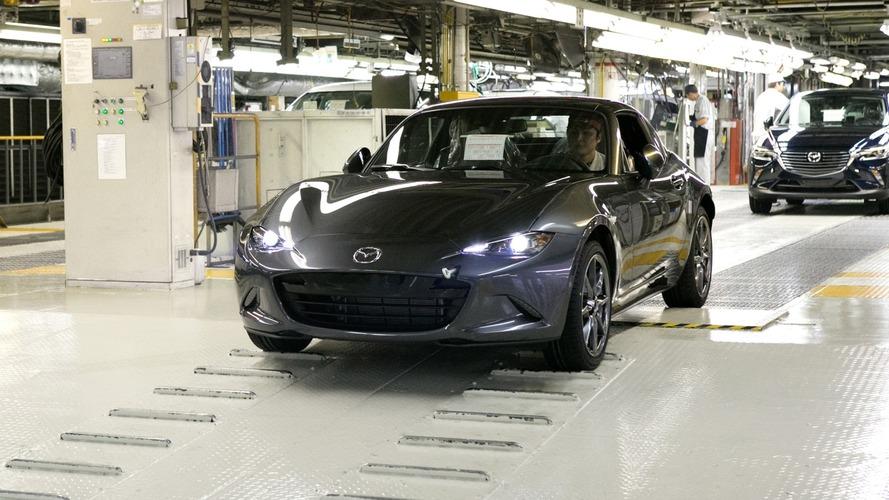 Mazda MX-5 RF'in üretimi Japonya'da başladı