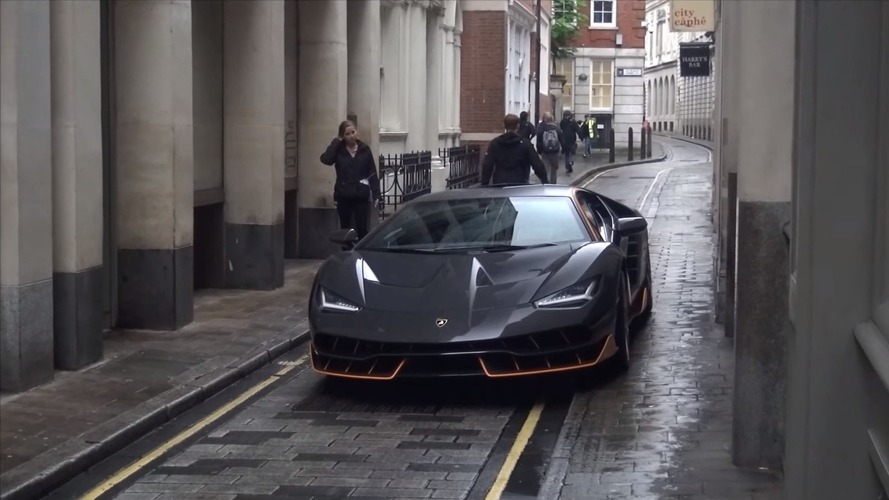 Transformers 5 filming in London shows Lamborghini Centenario