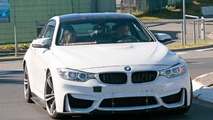 BMW M4 prototype spy photos