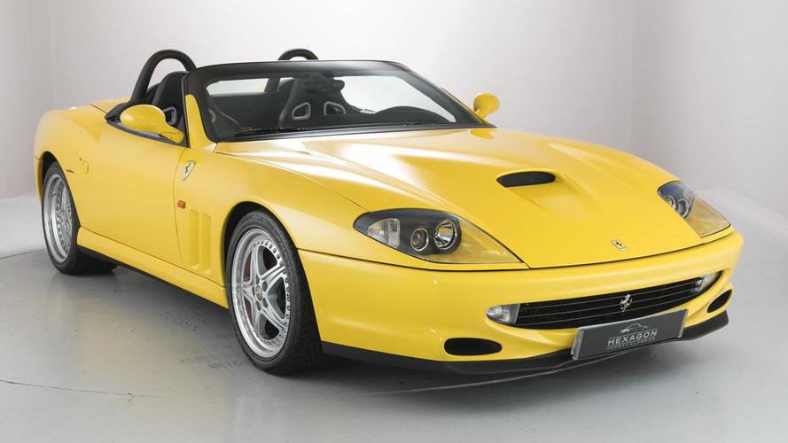 Two rare, recent Ferrari droptops on sale