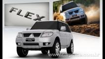 Mitsubishi volta a mostrar Nova Pajero TR4 2010 antes do lançamento