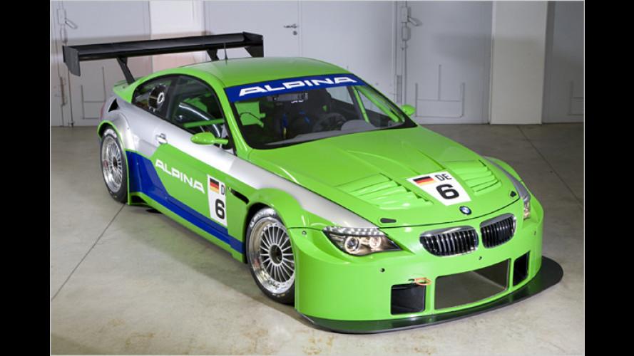 Jungfernfahrt auf der Rennstrecke: BMW Alpina B6 GT3