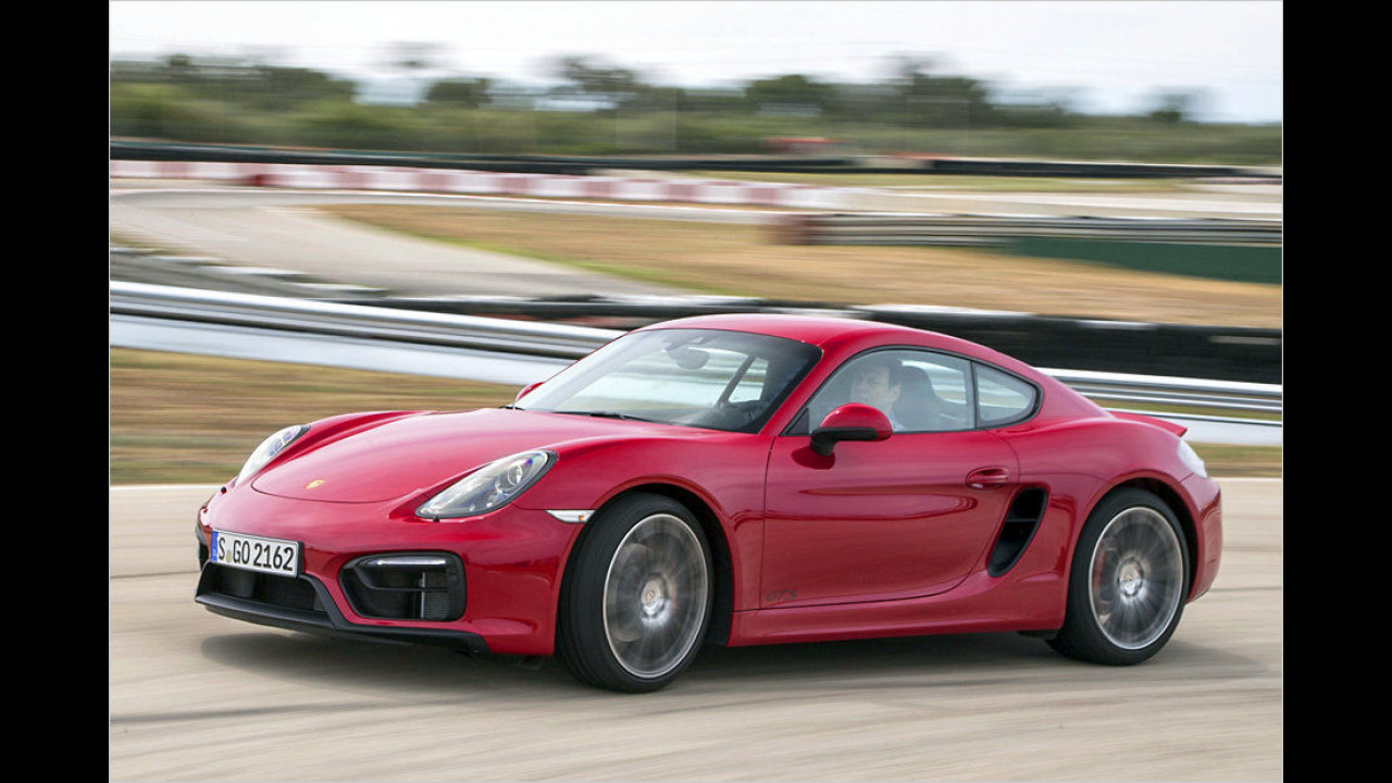 Top: Porsche Cayman GTS