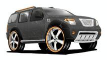 Marc Ecko design for Nissan Pathfinder