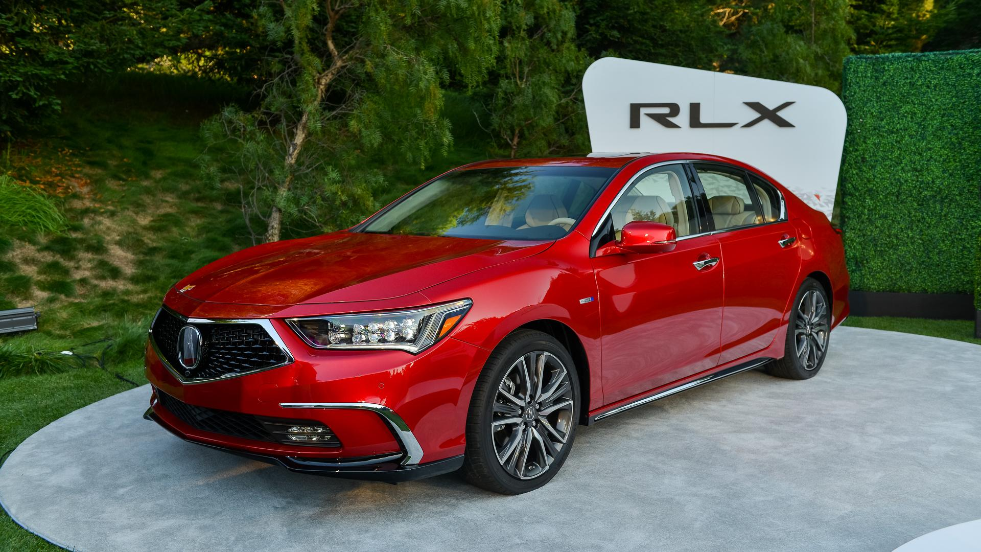 Updated Acura RLX Sedan Makes Its Pebble Beach Debut