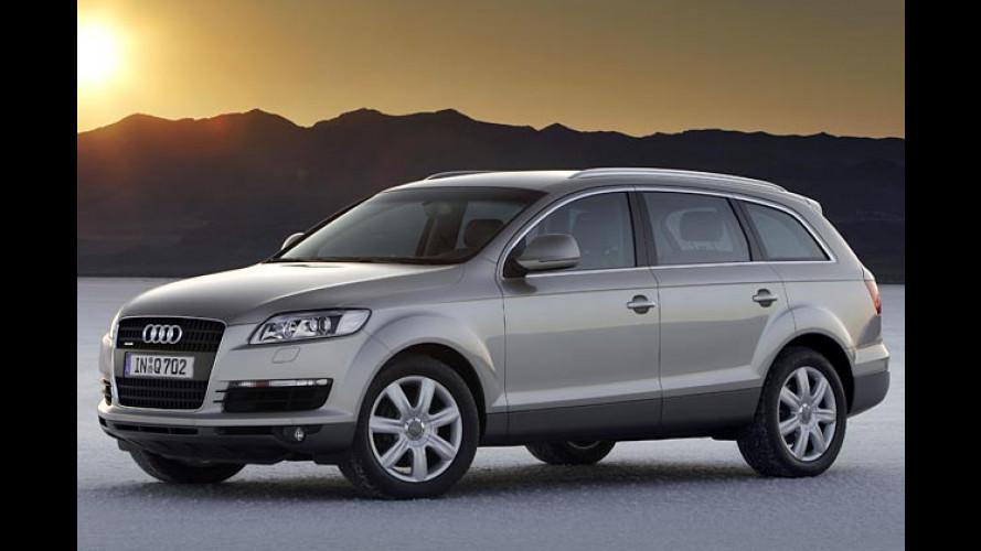 Audi Q7: Eleganter SUV startet noch im ersten Quartal 2006
