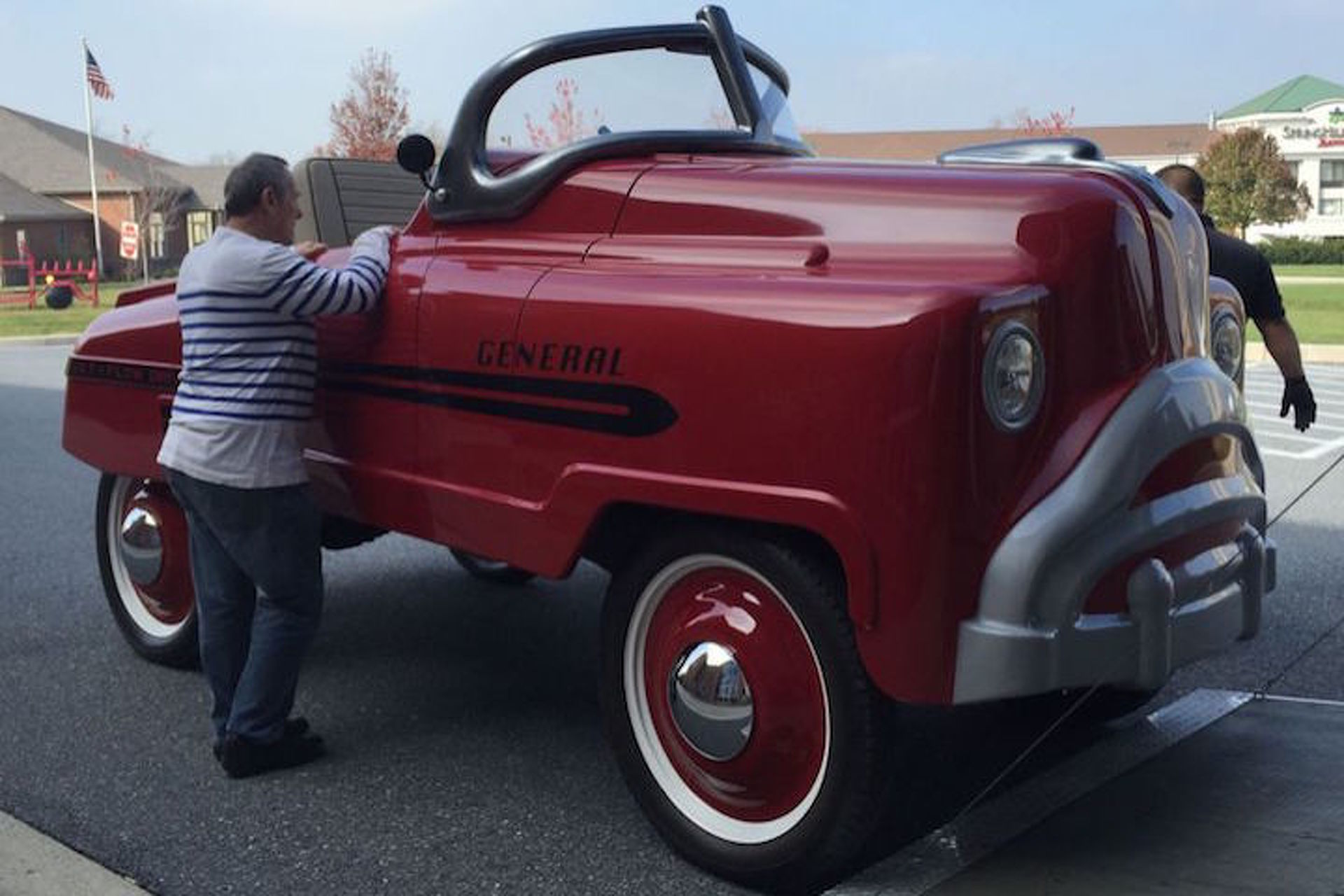 This Oversized, Street-Legal Pedal Car is Every Man-Child\'s Dream