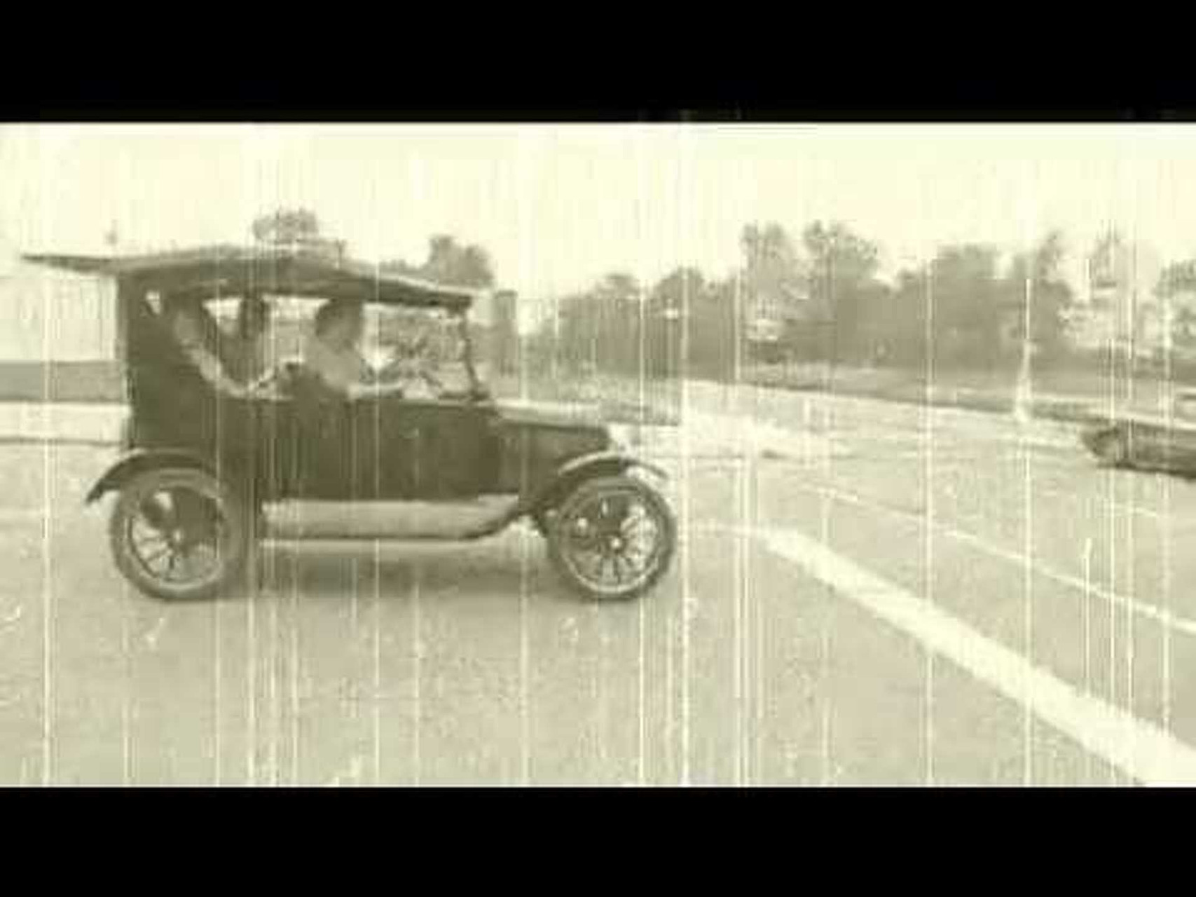 Cruising Detroit in a 1908 Ford Model T