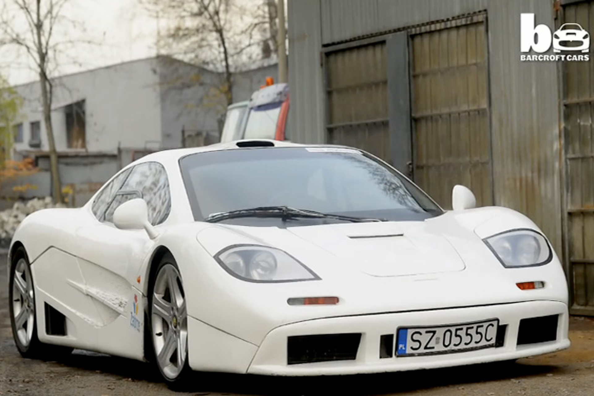 A Top Gear Fan Built this Incredible McLaren F1 Replica