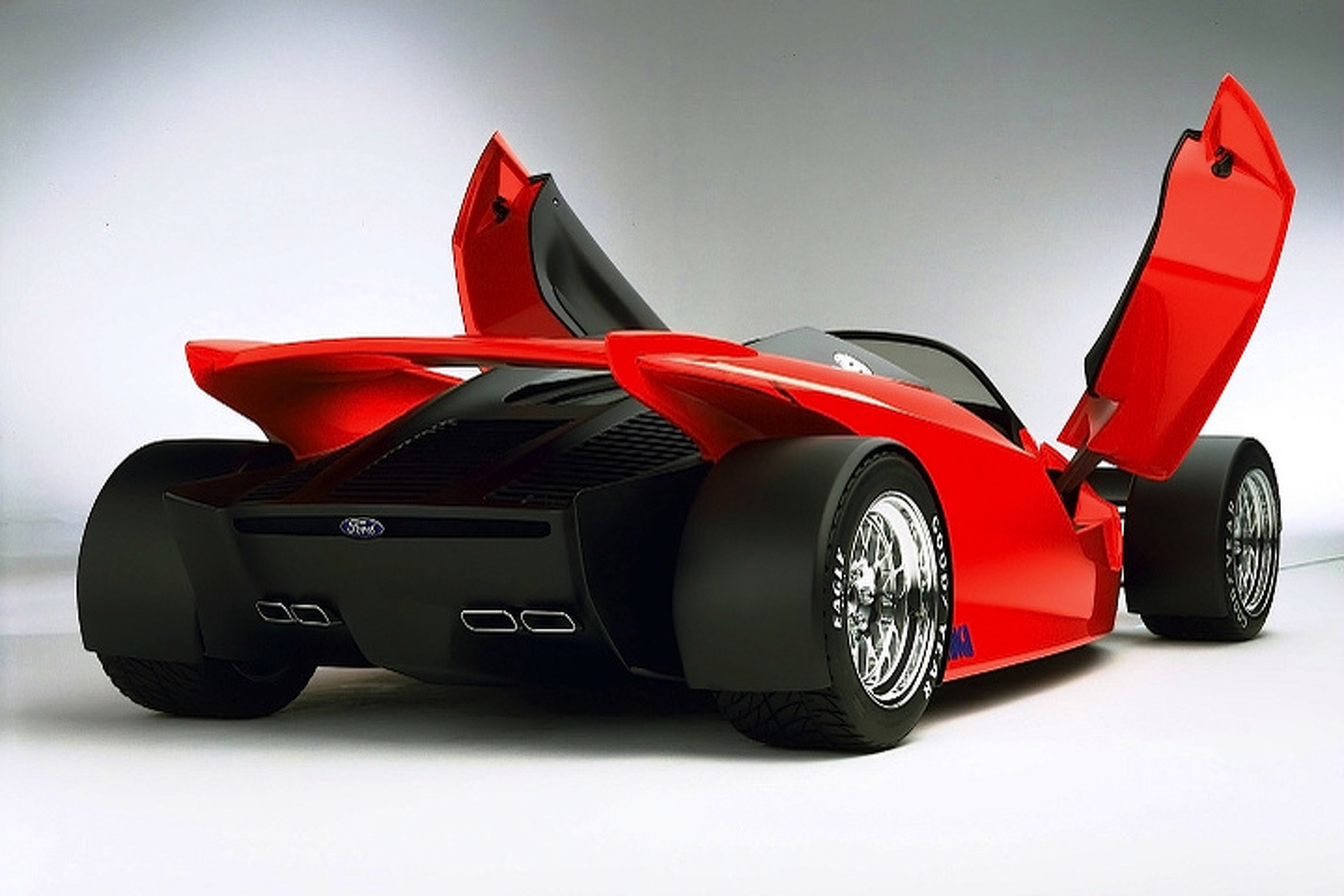 Ford Indigo Concept Was A V12, Mid-Engined Monster