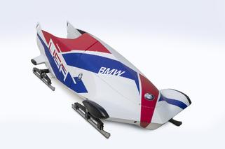 BMW-Designed Team USA Bobsleds: Focus on Aero, Carbon Fiber