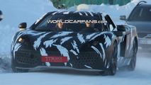 McLaren P11 Caught Winter Testing