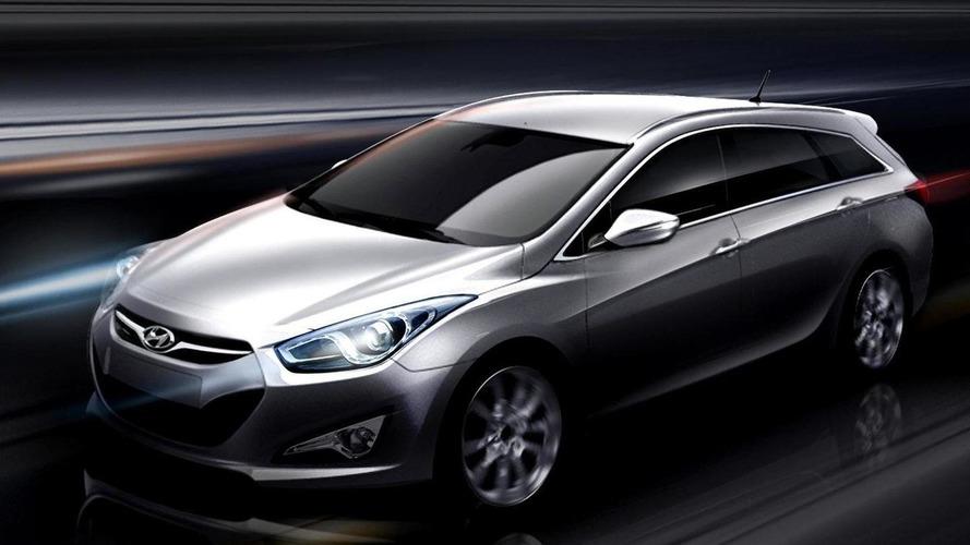 Hyundai i40W previewed ahead of Geneva debut