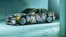 Sandro Chia (I) 1992 BMW 3-Series Racing Touring Car Prototype art car - 1600