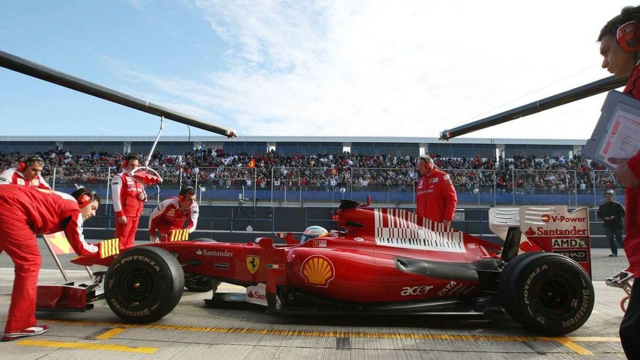 Fernando Alonso (ESP), Scuderia Ferrari - Formula 1 Testing, 20.02.2010, Jerez, Spain