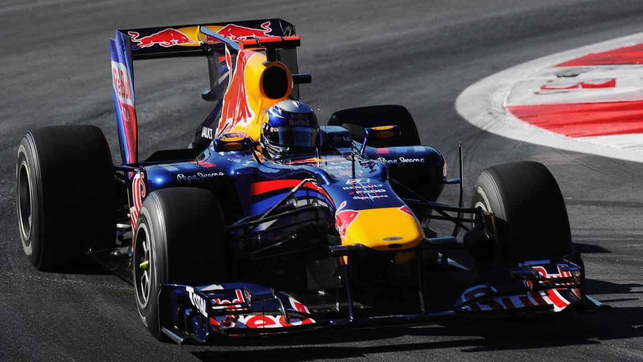 Sebastian Vettel (GER), Red Bull Racing - Formula 1 World Championship, Rd 14, Italian Grand Prix, Friday Practice, 10.09.2010 Monza, Italy