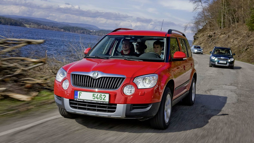 Skoda Yeti Production Commences