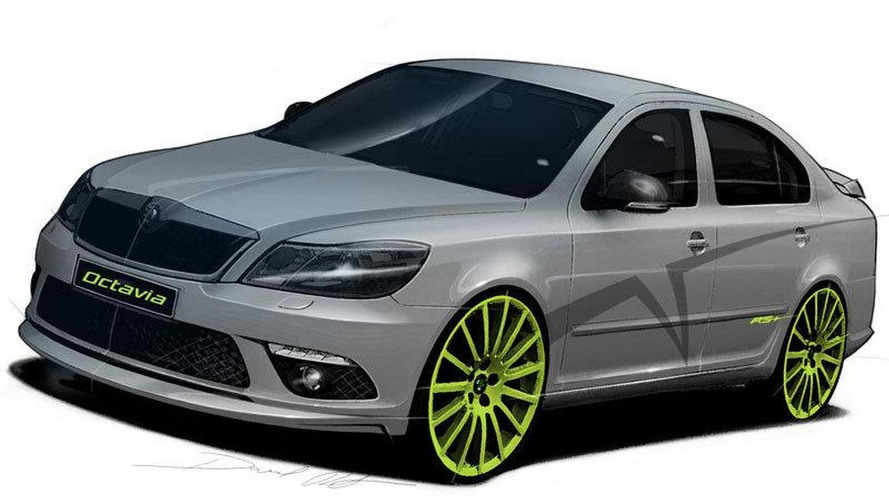 Skoda Fabia RS+ and Octavia RS+ tuning concepts to be revealed at Wörthersee 2010