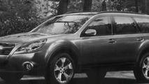 2010 Subaru Outback artist rendering