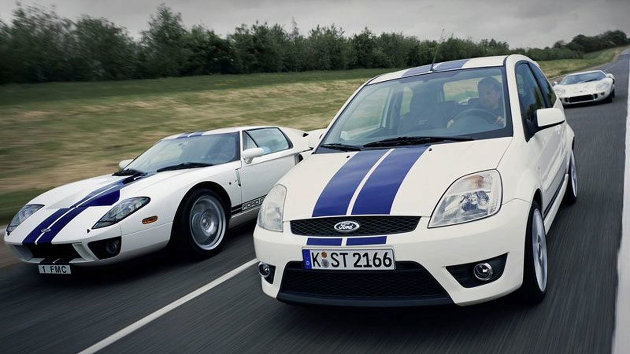 Ford GT and Ford Fiesta ST