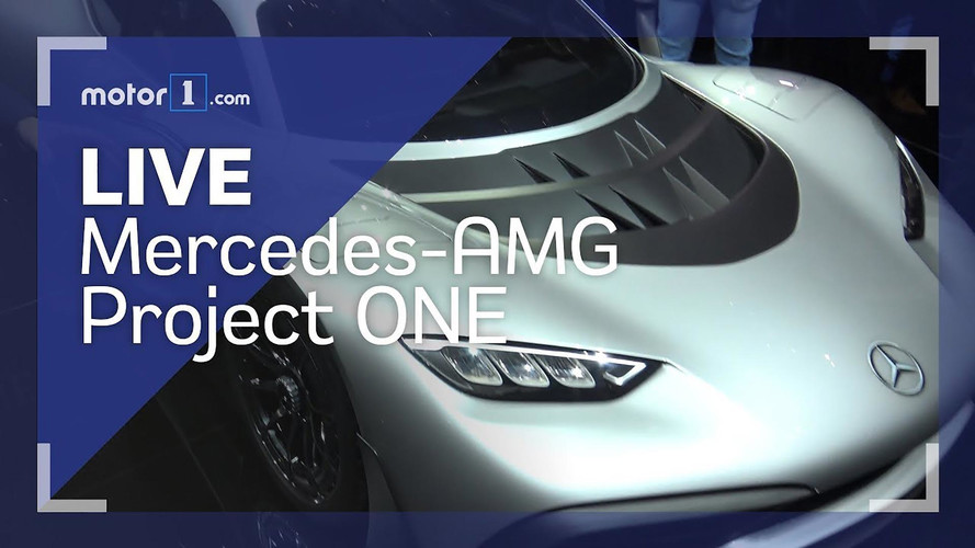 Mercedes-Benz AMG Project One Live Look