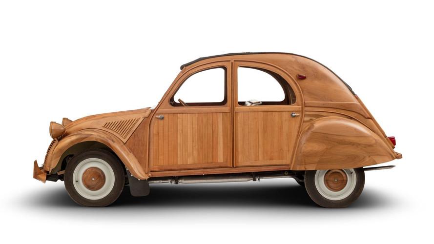 Citroën 2CV de madera