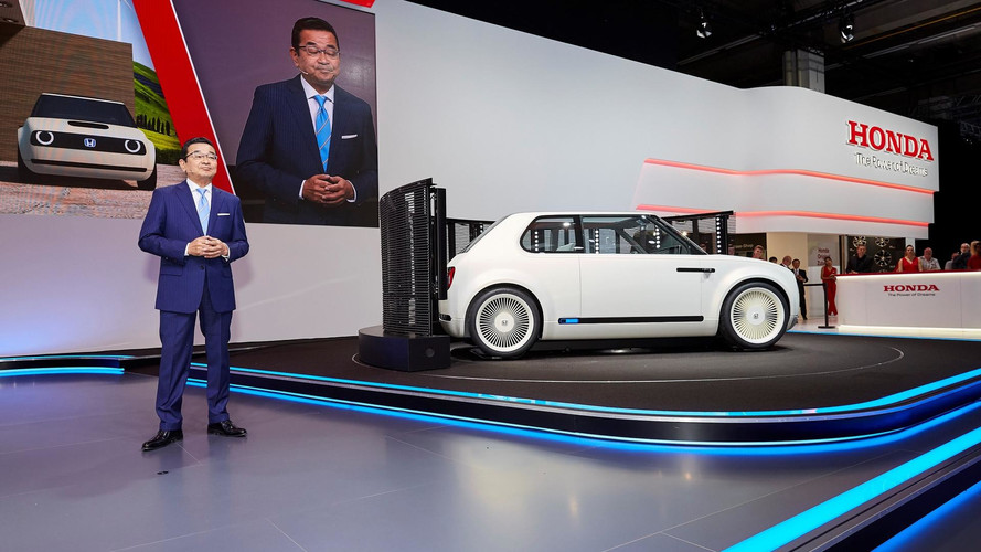Honda électriques - 240 km d'autonomie en 15 minutes en 2022