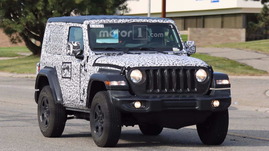 Jeep Wrangler Fleet Spy Photos