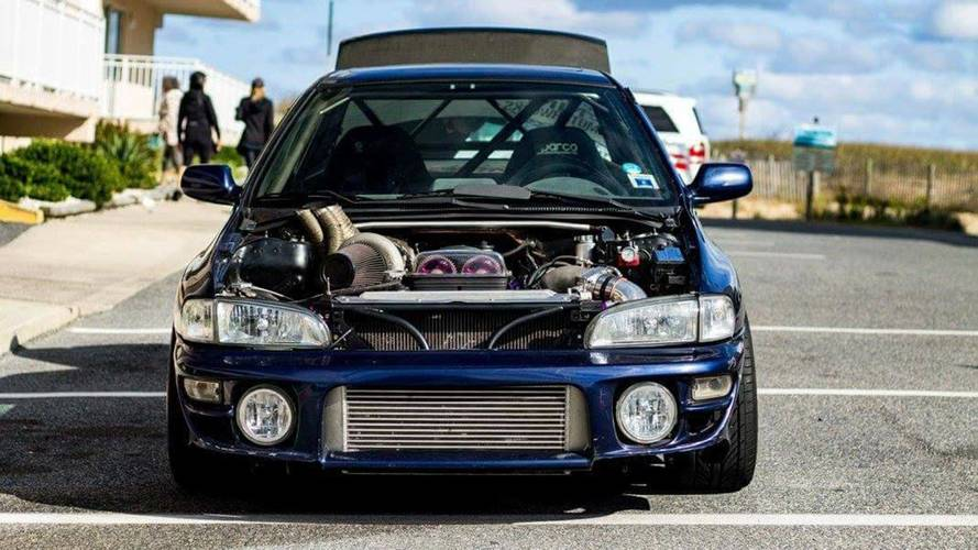 Rear-Wheel-Drive 2JZ-Powered Subaru Impreza For Sale For $150K