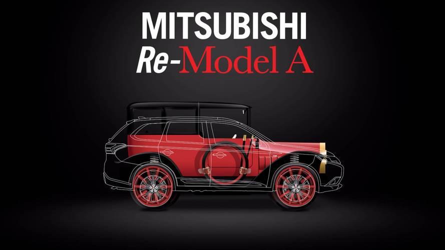 Mitsubishi Model A 1917 ganha mecânica de Outlander PHEV