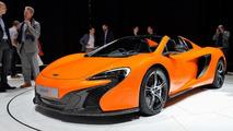 McLaren 650S Spider debut in Geneva