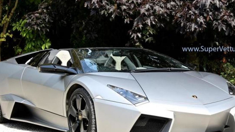 Barely driven Lamborghini Reventon Roadster on sale for 1.1M GBP