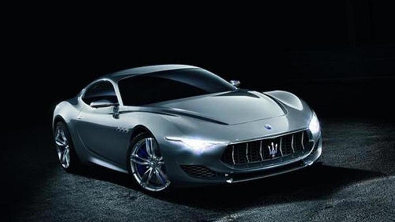 Maserati Alfieri concept leaked photo