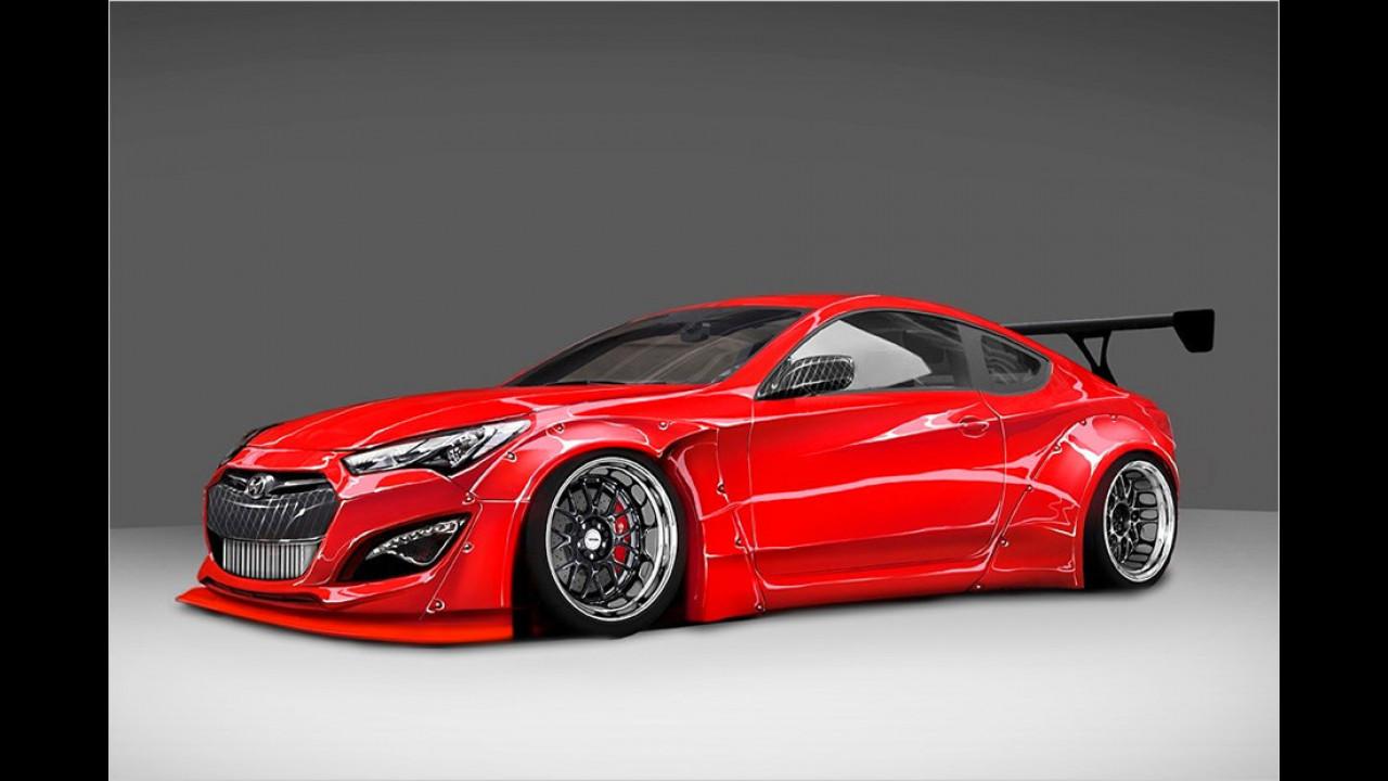 Blood Type Racing: Hyundai Genesis Coupé