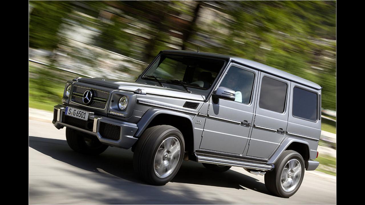 Mercedes: Topmodell AMG G 65