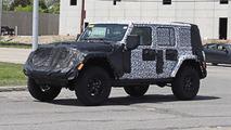 2018 Jeep Wrangler iç mekan casus fotoğrafları