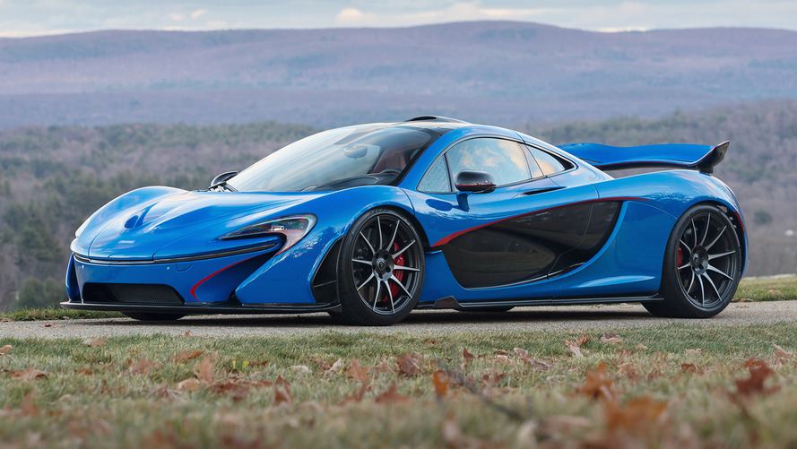 McLaren P1 sells for $3.2M at auction, the most expensive ever