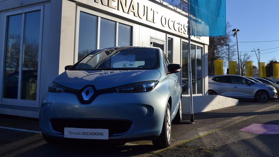 Des Renault Zoé d'occasion à partir de 9600 euros