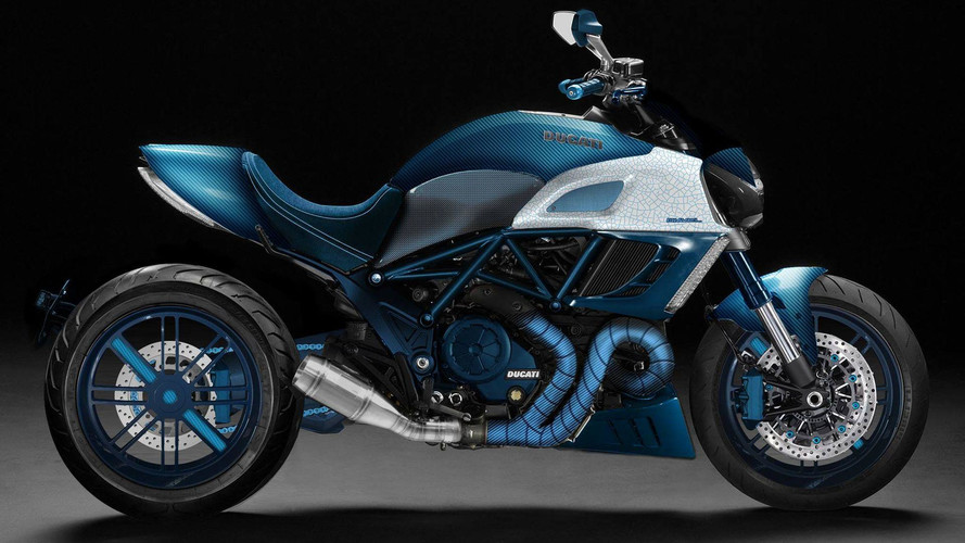 Italian Car Tuning Studio Unveils Custom Ducati Diavel