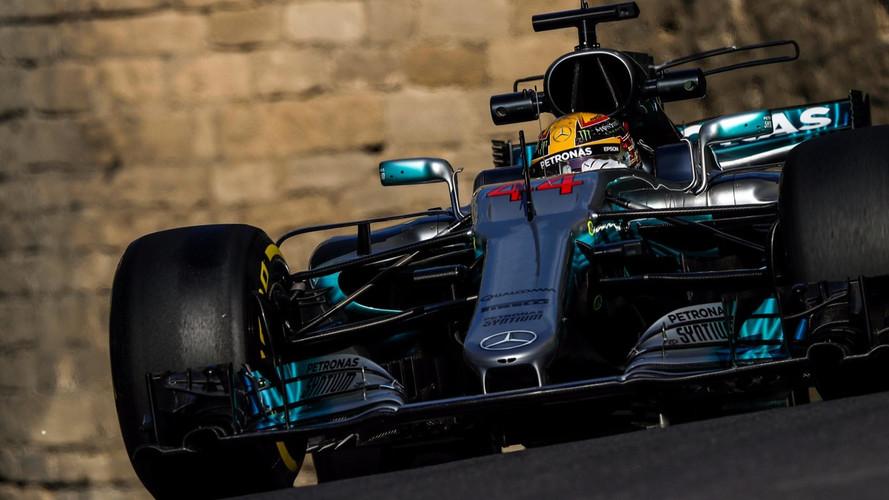 Formule 1 - La grille de départ du Grand Prix de Bakou