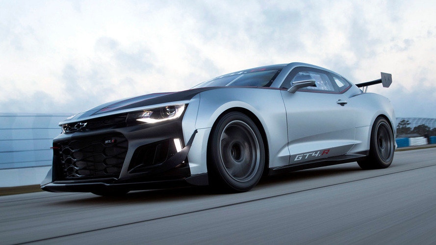 Chevy Camaro GT4.R Race Car Gets You On Track For A Cool $259k