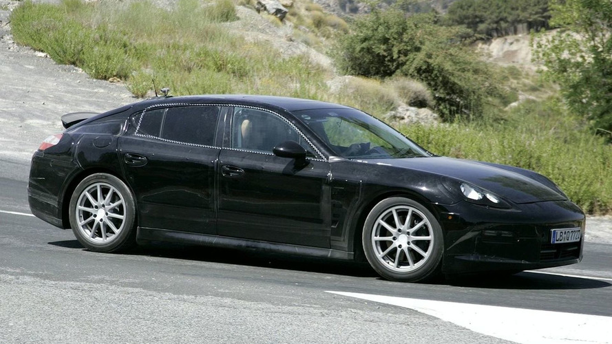 Latest Spy Video of Porsche Panamera