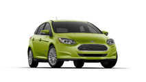 Ford Focus Electric Outrageous Green