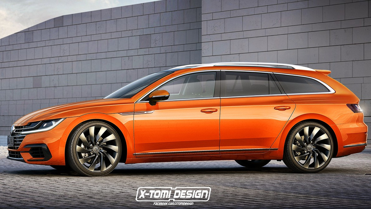 VW Arteon wagon render